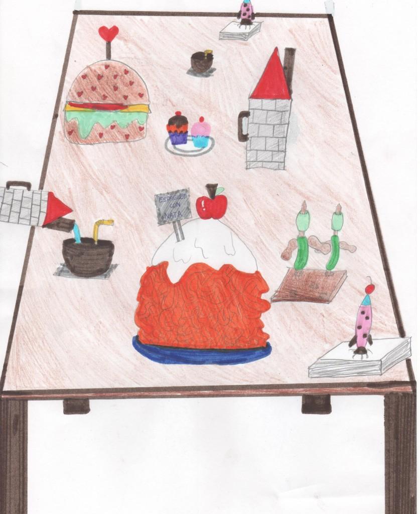 Dibujo de Elena, 11 años